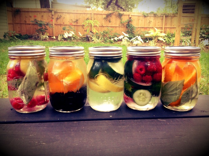 Flavored Fruit & Vegetable water