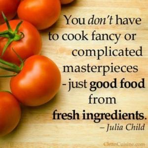 Julia Child Fresh