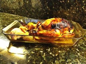 Garlic Butter Roasted Chicken