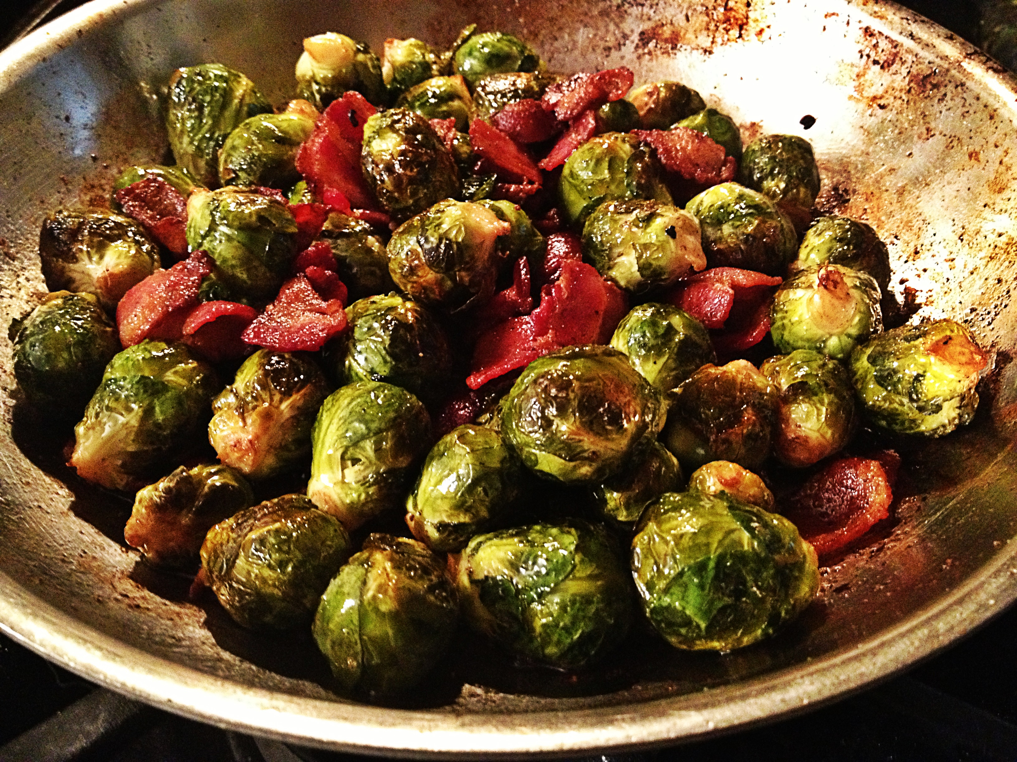 Caramelized Brussels Sprouts with a balsamic glaze | What ...