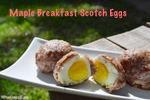 Maple Breakfast Scotch Eggs