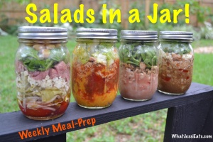 Salads in a Jar!