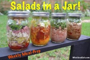 Salads in a Jar!