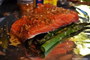 Garlic Dill Salmon