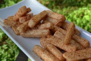 Jicama Cinnamon Sticks